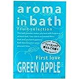 入浴剤 アロマインバス 「グリーンアップルの香り」30個