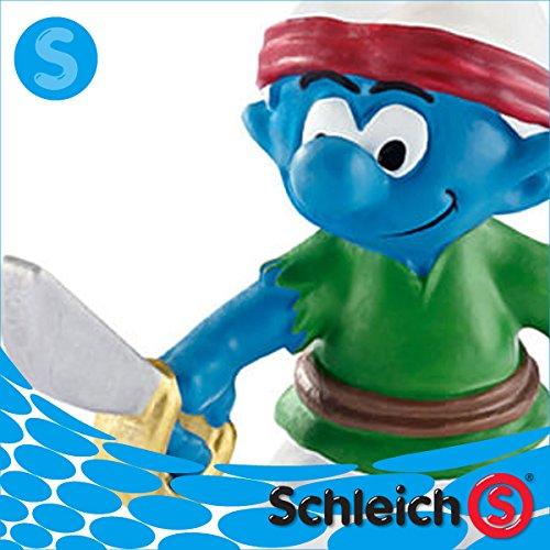 Schleich シュライヒ社フィギュア 20762 スマーフ 海賊 Pirate Smurf