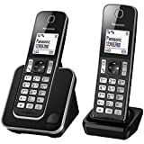 Panasonic Digital Cordless Phone, Black (KX-TGD312CXB)
