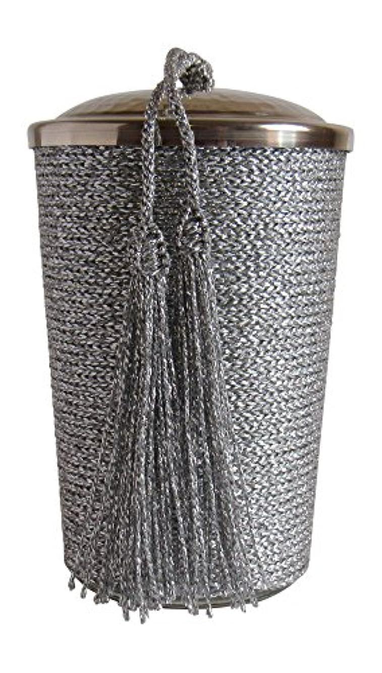 骨池反動モロッコシトロネラScented Candle、シルバー