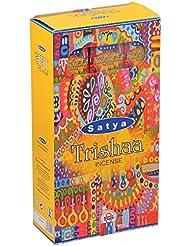 SATYA(サティヤ) トリシャー Trishaa スティックタイプ お香 12箱 セット [並行輸入品]