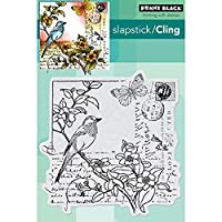 "Penny Black Cling Rubber Stamp 5""X7.5"" Sheet-Garden Letter (並行輸入品)"