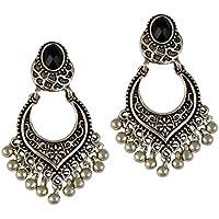 MagiDeal 1 Pair Of Women's Earrings Vintage Bohemian Tassels Dangle Studs Christmas Jewelry