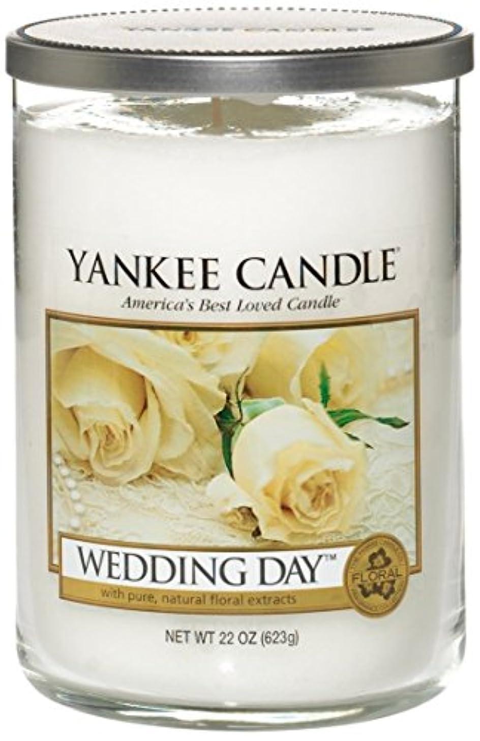 パーティションリングレット練習したYankee Candle Wedding Day 2-wickタンブラー