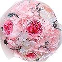 TEATSIGHT プリザーブドフラワー フラワーアレンジ ブーケ ケース入り 6輪 (バラ ピンク)