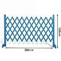 JIANFEI 木製 ボーダーフェンス植物クライミングフレーム フラワーベッドエッジ スタンドアップフラワースタンド 、5つのサイズ 、2色 カスタマイズのサポート (Color : Blue, Size : 280x160cm)