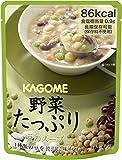 カゴメ 野菜たっぷり 豆のスープ 160g ×6袋