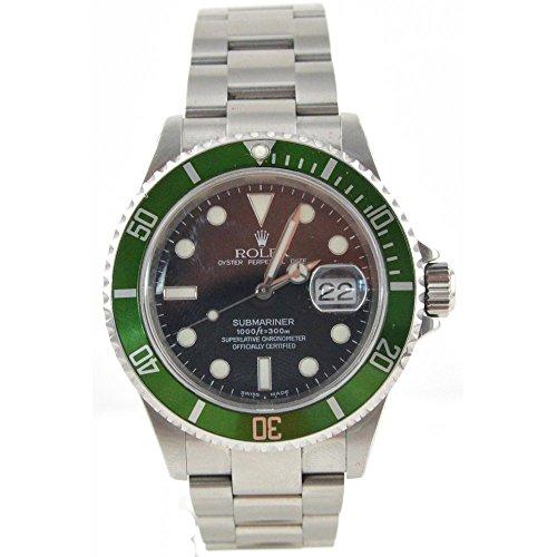 [ロレックス] ROLEX 腕時計 サブマリーナデイト 16610 ブラック メンズ [並行輸入品]
