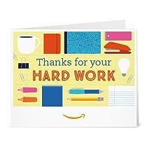 Amazonギフト券- 印刷タイプ(PDF) - ありがとう(ハードワークおつかれさま)