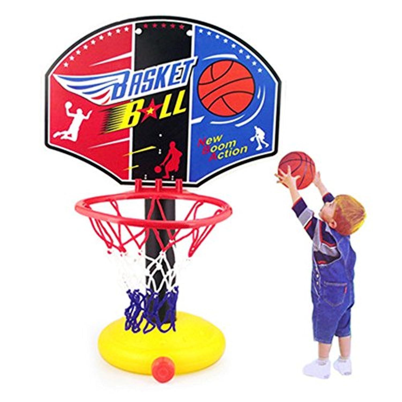 topshion子供のバスケットボールShootingおもちゃCan Rise and Fallバスケットボールスタンドシューティングボールをキッズ