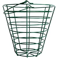B Baosity ゴルフレンジスチールワイヤバケット ゴルフボールコンテナバスケット 全2サイズ - フィット100ボール