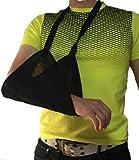 三角巾 アーム ホルダー 長さ 調節 バンド 付き 骨折 固定 (M)