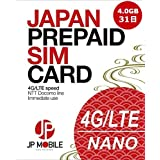 ✿JP Mobile プリペイドSIMカード ✿4.0GB高速モバイルデータ ✿31日間利用可能 (❖日本国内データ通信専用) ❖docomo LTEデータ通信高速体感 ⦿設定後すぐ使える ⦿SIMアダプターとSIMピン付き ⦿低速使い放題 ⦿データリチャージ可、利用期限延長可 ⦿積極的なカスタマーサポート✿Prepaid SIM card ✿4.0GB High Speed Mobile Data ✿31 Days Usage Period (❖Data-only SIM for usage within Japan) ❖Reliable Docomo LTE Mobile Network ⦿Immediate Use after Setup ⦿SIM Adapter and SIM Pin Included ⦿Unlimited Usage at Low Speed ⦿Data Recharge Possible, Usage Period Extension Possible ⦿Active Customer Support