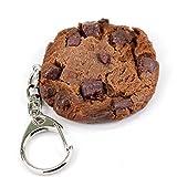 食品サンプルキーホルダー 食べちゃいそうなチョコクッキー 063OK