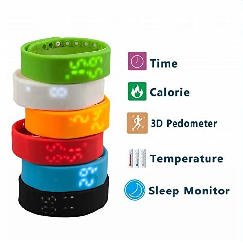 Slims Pedometer Watch Sport Watch Smart Watch Activity Tracker Sleep Monitor Temperature Monitor for Fitness