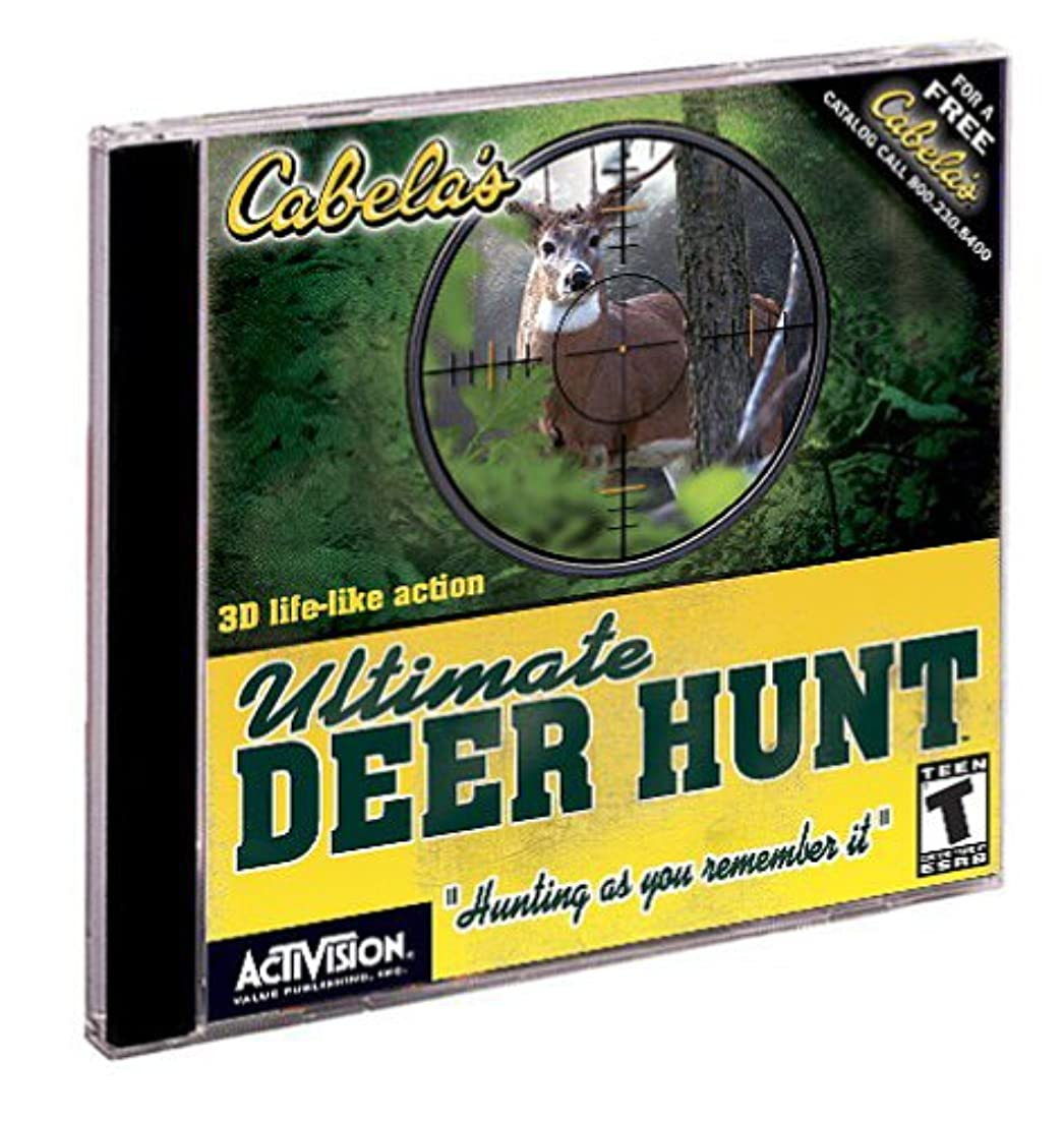 悲しいことにティーム浮浪者Cabela's Ultimate Deer Hunt (Jewel Case) (輸入版)