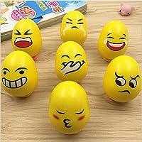 Keaner新生児幼児Roly - PolyおもちゃFun Rattle式Egg Tumblerおもちゃ(イエロー)
