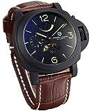 [パガーニ]PAGANI DESIGN イタリア高級車メーカー腕時計 パワーリザーブメモリ スモールセコンド オープンハート PD-2716RBG [並行輸入品]