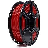 Flashforge® PLA 1.75mm 3D Printer Filaments 1kg Spool-Dimensional Accuracy +/- 0.05mm for Creator Series (Red)