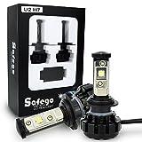 Safego 80W 車用 H7 LED ヘッドライト 8000LMルーメン DC 12V 高輝度 Cree CHIP搭載 LEDバルブ ホワイト 新発売 12ヶ月保証 U2-H7