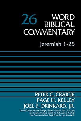 Jeremiah 1-25, Volume 26 (Word Biblical Commentary)