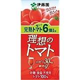 伊藤園 理想のトマト (紙パック) 1L×6本