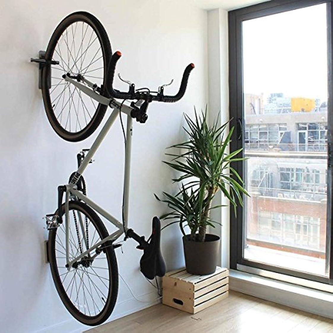 兄弟愛連帯遊び場Maxfind ペダルフック デラックス 自転車ラック ガレージ 壁掛け 自転車ハンガー 収納 水平