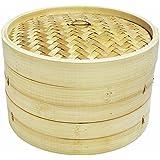 "12"" Bamboo Steamer Set"
