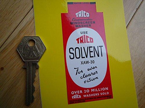 Daimler Trico Solvent Washer Bottle Bracket Shaped Sticker ダイムラー ステッカー シール デカール 海外限定 44mm x 100mm [並行輸入品]