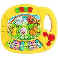 教育おもちゃ、baomabao赤ちゃん子供ミュージカル教育動物ファームピアノミュージックDevelopmentalトイ