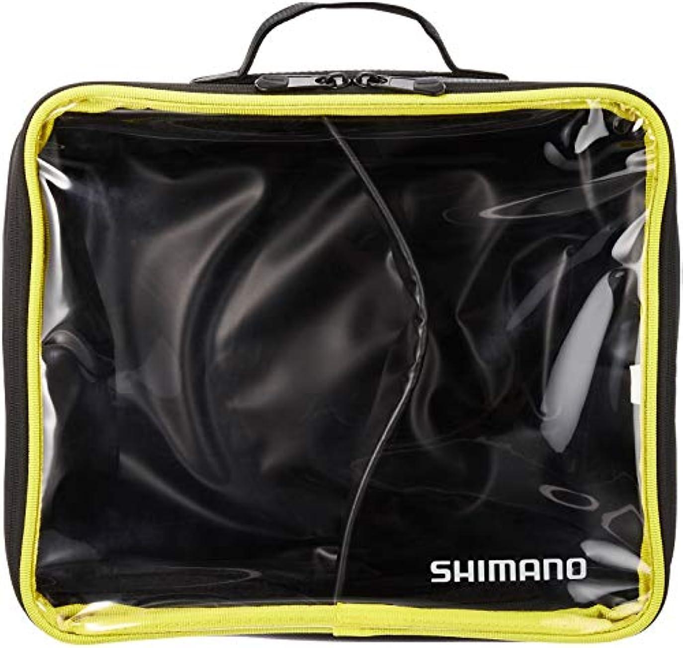 フロー極貧改革シマノ(SHIMANO) へらバッグ へらボウルポーチ ブラック PC-024Q