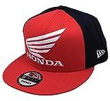 【 HONDA 】 US ホンダ ウィングCAP NEW ERA トロイ・リーデザイン フラット レッド/ブラック