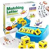 ACHICOO 知育 学習玩具 パズル玩具 キッズ アルファベット マッチング文字 スペルゲームカード 教育