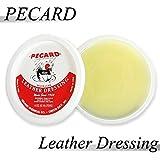 【PECARD】 ペカード レザードレッシング ペーストオイル Beewax(蜜蝋) 耐水性 柔軟性 防水 保湿効果 ツヤ出し メンテナンス クリーナー 180ml