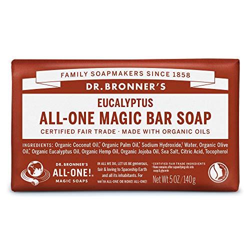 ドクターブロナー マジックソープバー(magic soap) 石鹸 ユーカリ 140g ネイチャーズウェイ