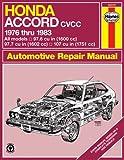 Haynes Honda Accord Automotive Repair Manual (Hayne's Automotive Repair Manual)