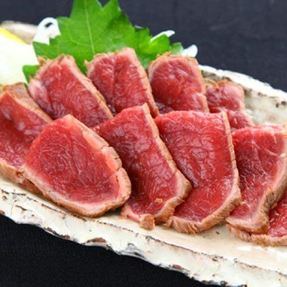 ヒゲシリングトマト旨み濃厚 馬肉たたき 100g 熊本 馬刺し 赤身 馬肉 おつまみ 小分け
