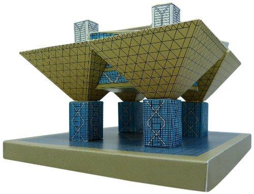 1?/ 750東京国際展示場「会議建物」ペーパークラフト