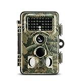 トレイルカメラ, ABASK防犯カメラ 暗視カメラ 赤外線カメラ ビデオレコーダー ハンティングカメラ 500万のCMOSセンサー付き 1200万画素 HD動画対応モデル 動体検知 IP54防水仕様 時差撮影機能 HDデジタル 不可視赤外線 動物撮影 野外監視カメラ