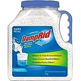 Damp Rid Damp Rid Moisture Absorber Super Refill 3.4 kg, 3.4 kg, Fragrance Free 3.4 kilograms