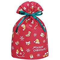 インディゴ クリスマス グリーティングバッグL ウィンターモチーフ レッド XG547