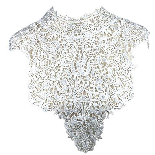 (ステキ ライフ)Suteki Life DIY 手芸用品 付け襟 衣類アクセサリー  高級感 デザイン 襟元のおしゃれ 裁縫用