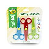 Crayola 811458 Safety Scissors (Pack of 3)