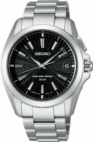 [セイコーウォッチ]SEIKO WATCH 腕時計 BRIGHTZ ブライツ ソーラー電波修正 チタンダイヤシールド サファイアガラス スーパークリア コーティング 日常生活用強化防水 (10気圧) SAGZ071 メンズ