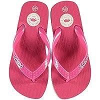 SoulCal Maui Flip Flops Childs Girls Pink Thongs Sandals Beach Shoes