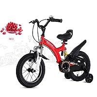 Gai Huaホーム子供用自転車子供の自転車2–4-6–7-8–9-10Year Old Boy and Girl Baby Strollerペダル自転車 14 inches