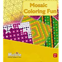 Children's Mobile Activity Book Mosaic Coloring Fun by Unknown [並行輸入品]