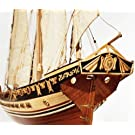 帆船模型キット カッサドール (60分の帆船模型製作入門DVD及び和訳付き)