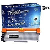TN-630 TN660トナーカートリッジ 互換 (1パック) Brother MFC-L2705DW 2707DW 2720DW 2740DW プリンター用