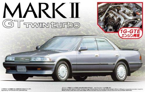 1/24 ザ・ベストカーGT No.19 GX81 マークII GTツインターボ '88 (エンジン付)